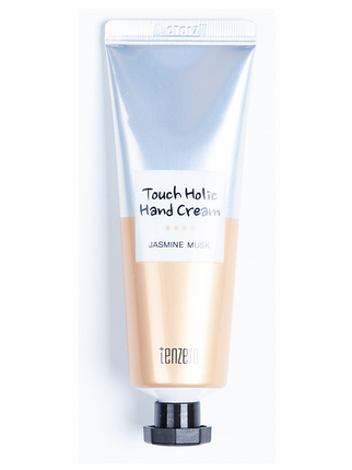 Крем для рук с жасмином Tenzero Touch Holic Hand Cream Jasmine Musk, 50 мл, фото 2