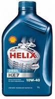 Масло моторное Shell Helix Diesel HX7 10W-40 1L