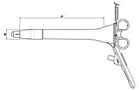 Ректоскоп диагностический THD Recto Mini Led, с источником света, нестерильный, без груши