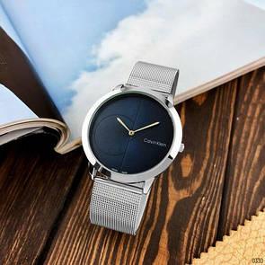 Женские часы CK 2140CF Silver-Blue Small