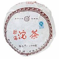 Шу Пуэр (Чаша) То Ча 2007 г. 100 гр. Фабрика Тяньфусян