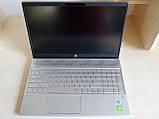 Ноутбук HP Pavilion 15.6 FHD ips i7-1065G7/16GB/SSD 512GB/MX 250,4GB/TypeC 15-cs3067nl (3G047EA) Пробег 121ч, фото 3