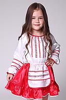 Премиум! Украинка Маскарадный Костюм для девочки, Комплектация 2 Элемента, Размеры 3-6 лет, Украина