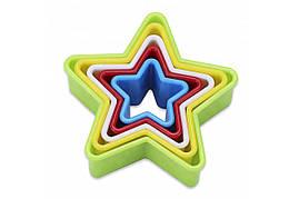 Форма пластм.9,5*3,2см из 5-ти Звезда