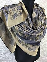 Женский двухсторонний платок с люрексовой нитью Турция