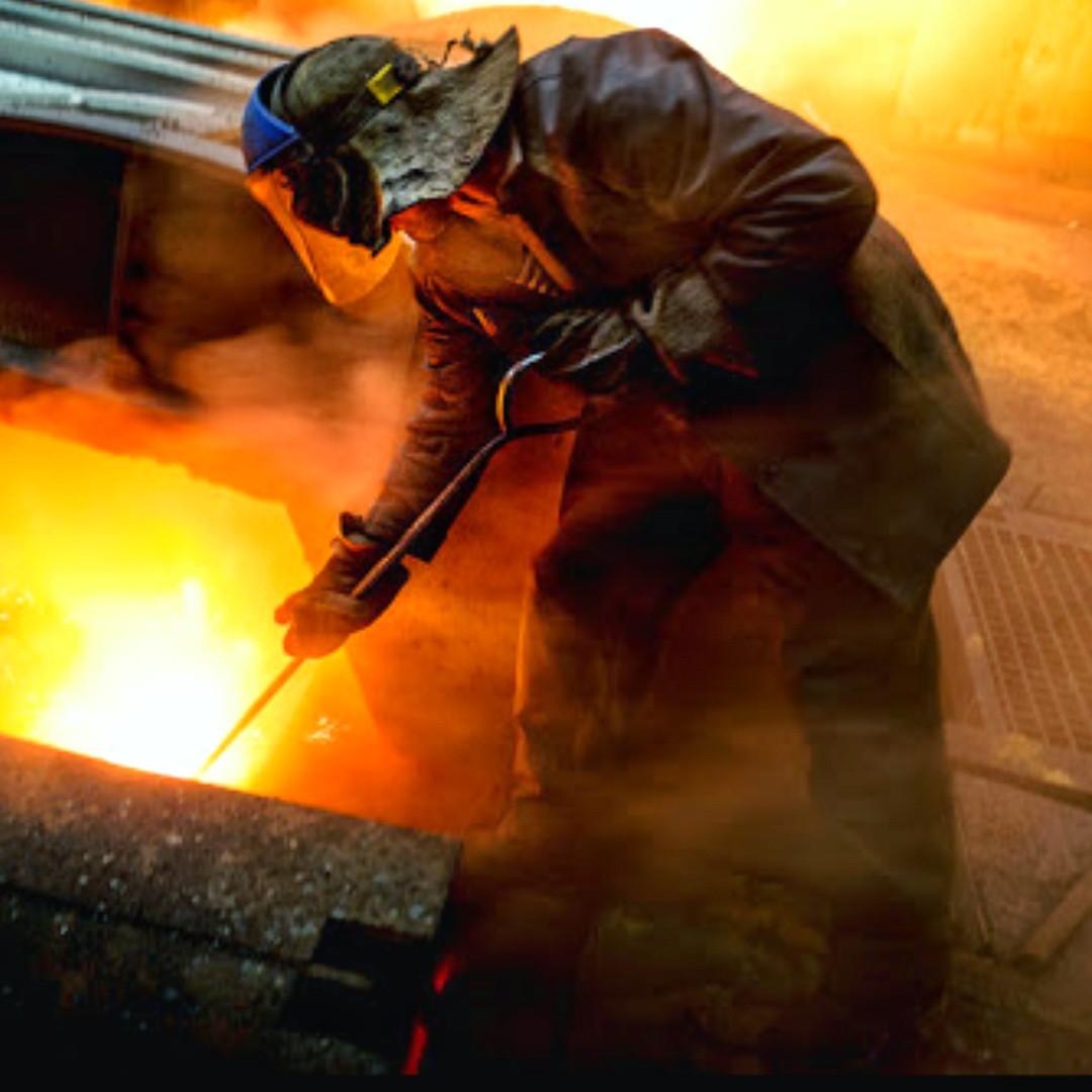 Производство металлической продукции литейным путем