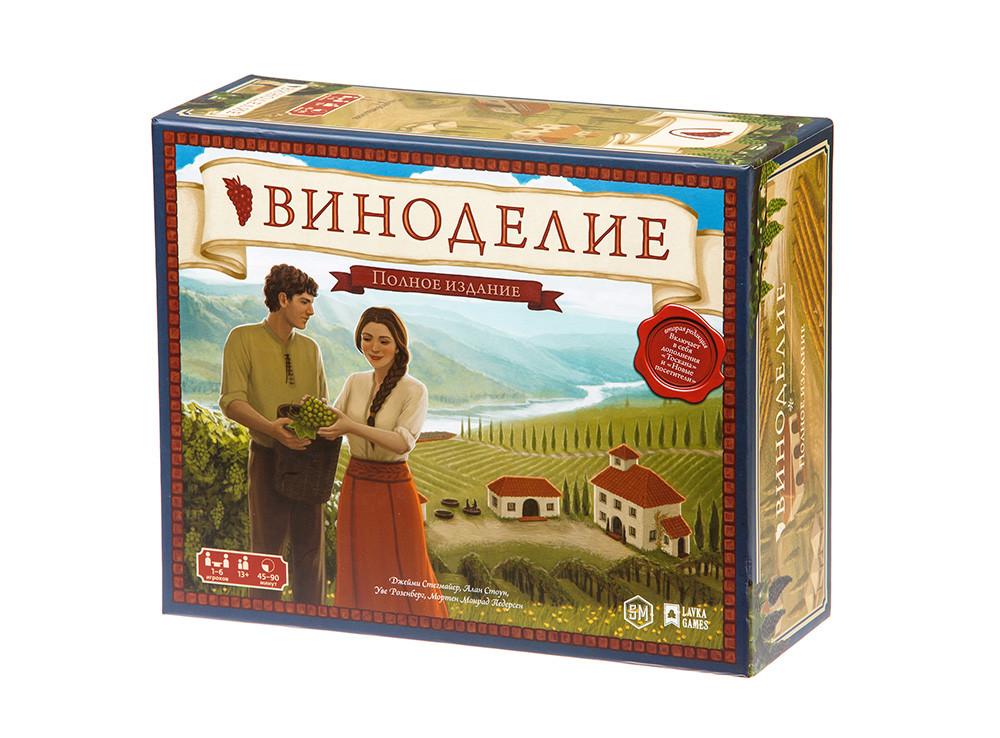 Настільна гра Виноробство. Повне видання (Viticulture: Essential Edition) рус