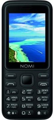 Мобильный телефон Nomi i2401+ Black (чорний)