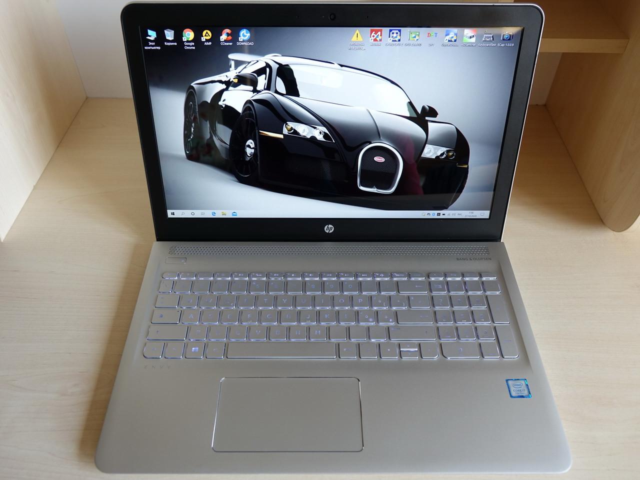 """Ноутбук HP Envy (Pavilion) 15.6"""" FHD IPS 1920*1080 i7-7500U/16GB/1TB/Type-C/ 15-as100nl (X9X88EA) Как новый"""