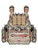 Плитоноска plate carrier multicam