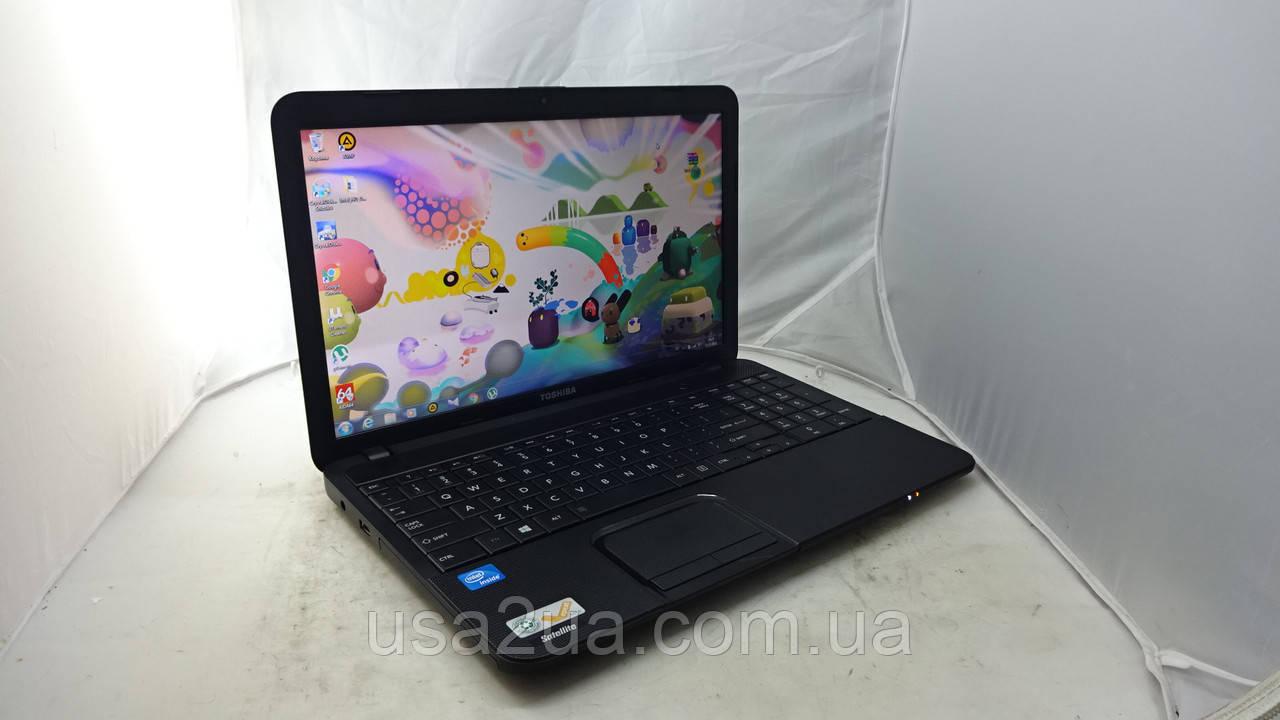 """15.6"""" Ноутбук Toshiba Satellite C855 Core I5 2gen 320Gb 6Gb WEB КРЕДИТ Гарантия Доставка"""