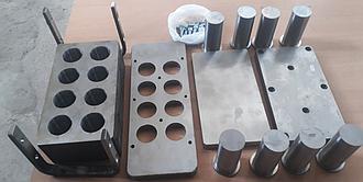 Пресс-форма (ПФ)  для изготовления древесно-угольных брикетов
