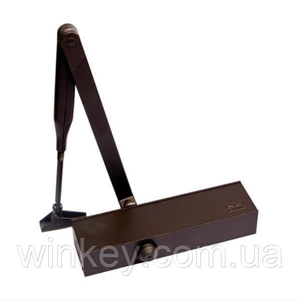 Дверной доводчик DORMA TS Profil коричневый с ножницами
