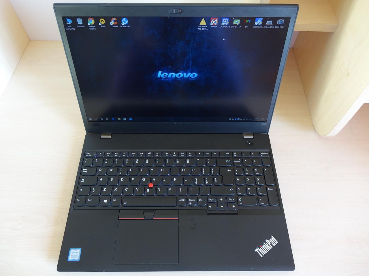 """Ноутбук LENOVO ThinkPad T580 15.6"""" ips FullHD i5-8250U/16GB/SSD 512GB/Intel UHD 620 (20L9-001YIX) Идеал"""