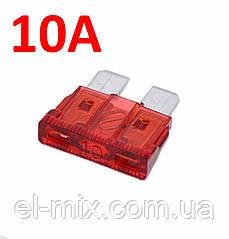 Предохранитель авто П-образн. 10А 32В MIDI (19мм), красный, BEZ4011-10,1