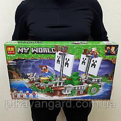 Конструктор Майнкрафт Корабль Битва на корабле Minecraft My World Bela 11139 630 деталей
