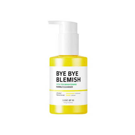 Кислородная маска-пенка Some By Mi Bye Bye Blemish Vita Tox Brightening Bubble Cleanser, 120 гр, фото 2