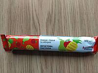 Пастила натуральные конфеты без сахара ананас груша и яблоко упаковка 25 шт