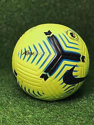 Мяч футбольный Nike Flight премьер лига желтый