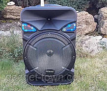 Колонка аккумуляторная с радио микрофоном Tritronix TS SL-1231 / 150W (USB/FM/Bluetooth)