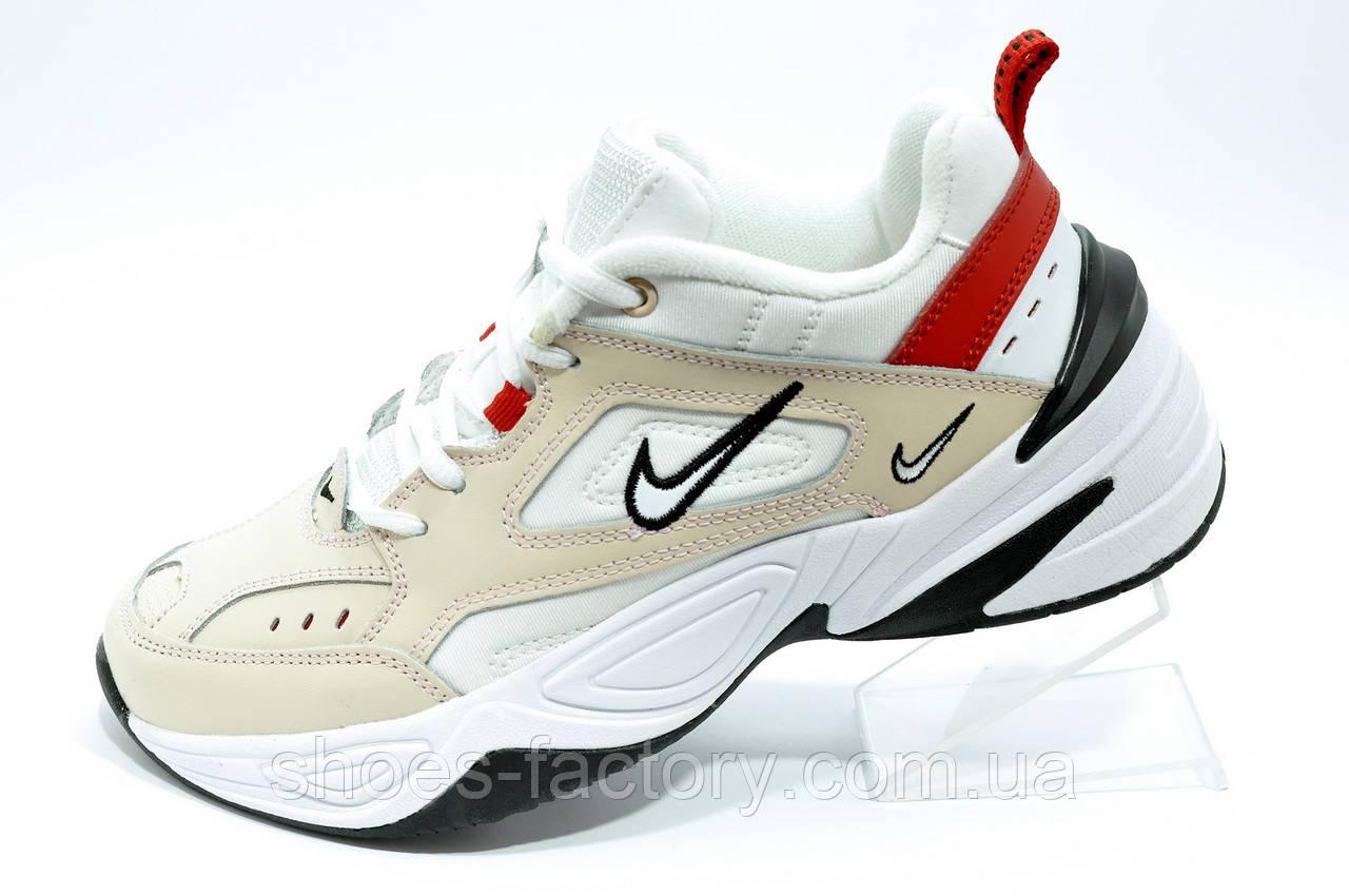 Кроссовки Nike M2K Tekno женские кожаные