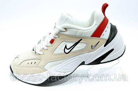 Кроссовки Nike M2K Tekno женские кожаные, фото 2