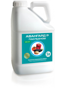 Авангард Пасльонові, мікродобриво для позакореневого живлення, тара 5 л