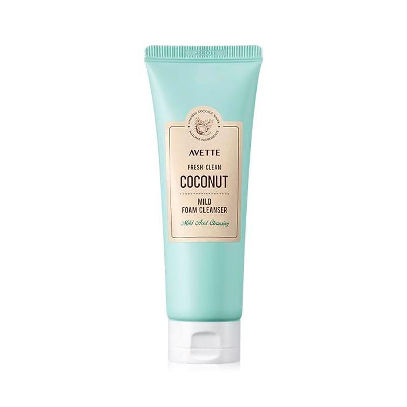 Очищающая пенка на основе кокоса Tony Moly Avette Fresh Clean Coconut Mild Foam