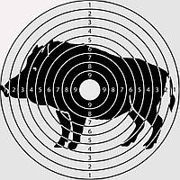 Мішень мала (20x20) - 50 шт