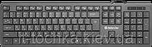 Проводная клавиатура defender officemate sm-820 usb black (45820)