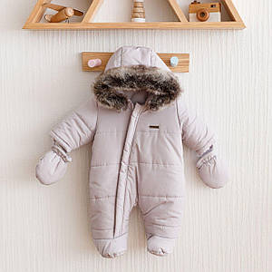 Детский зимний комбинезон MagBaby Аляска для новорожденных 62, 68, 74