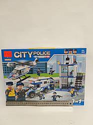 Конструктор Police 395 деталей у коробці LX.A337