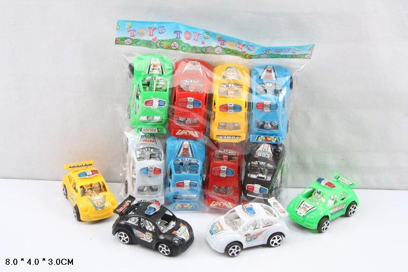 Машина інерційна 6 кольорів 8 шт у наборі 383G