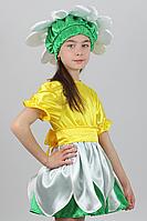 Премиум! Ромашка Карнавальные Костюмы для девочек, Комплектация 3 Элемента, Размеры 3-6 лет, Украина