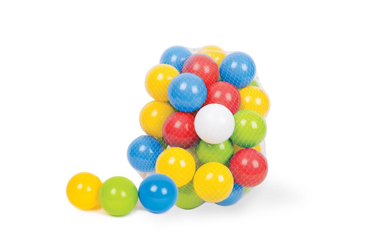 Іграшка ТехноК Набір кульок для сухих басейнів в сітці 4333