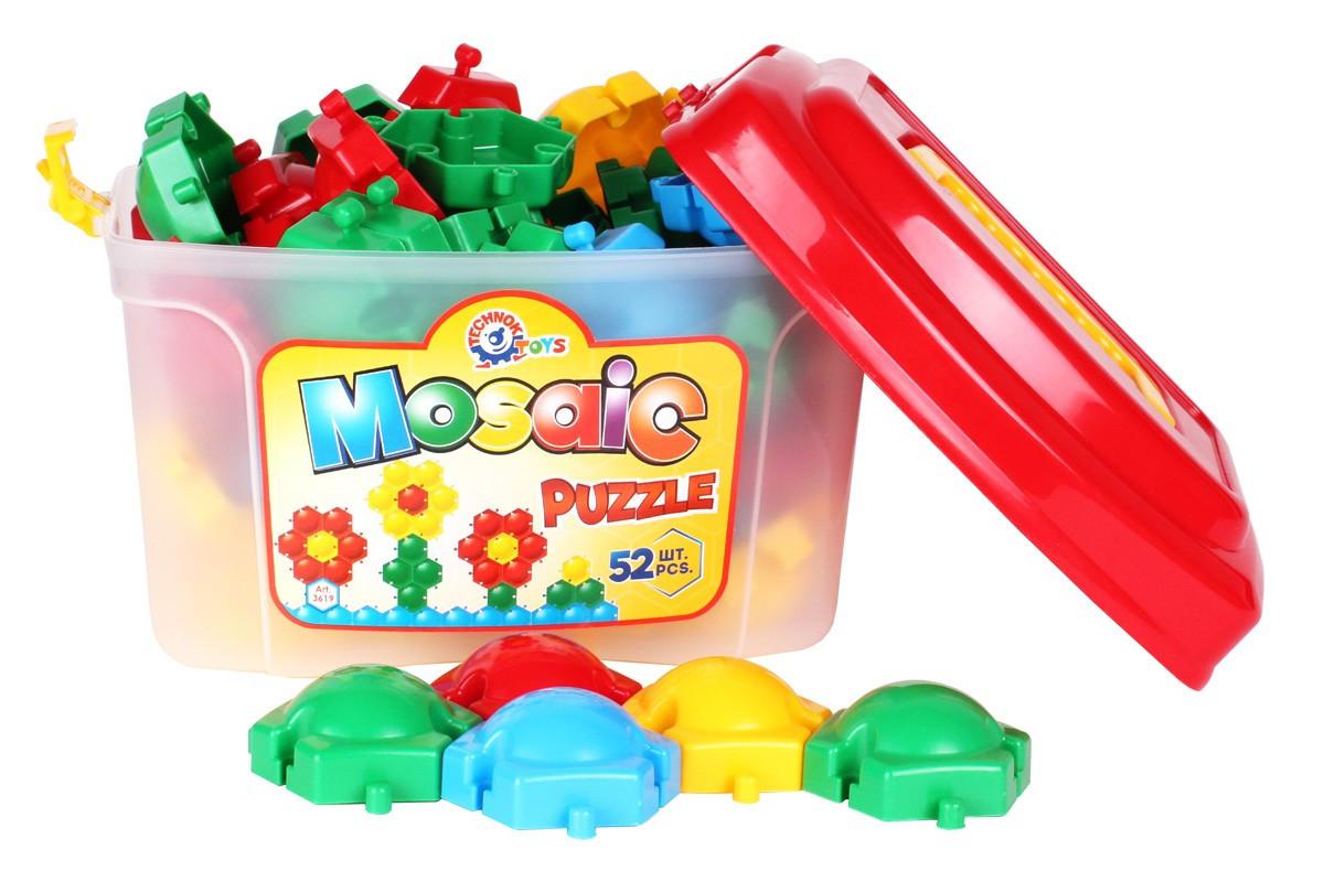 Іграшка ТехноК мозаїка-пазли Бджілка в боксі 3619