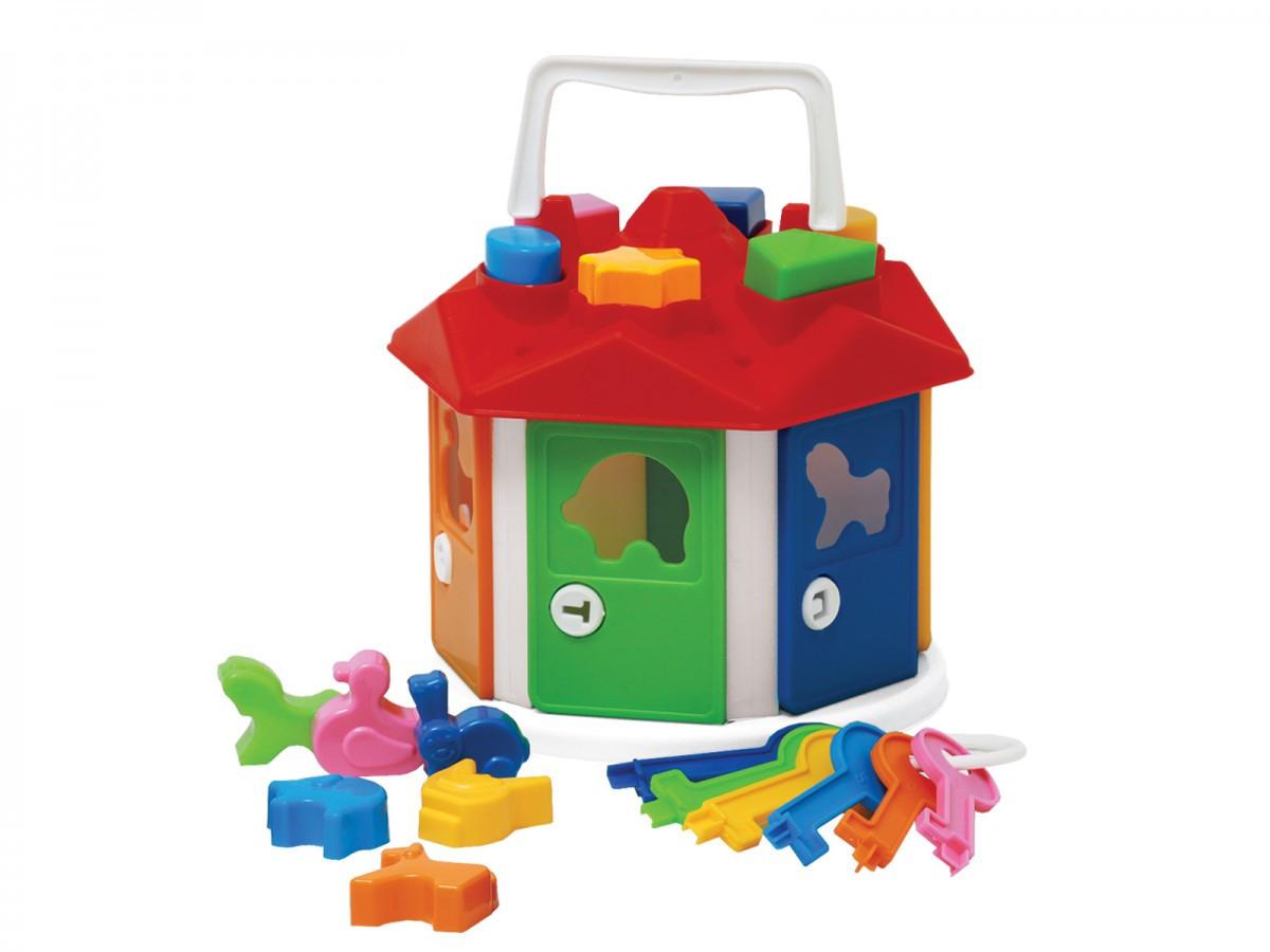 Іграшка ТехноК Розумний малюк Будиночок  в сітці 2438