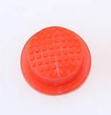 Кнопка силиконовая (резиновая) красная 14 мм.