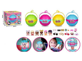 Лялька LOL нічник мікс видів з аксесуарами в коробці BB85