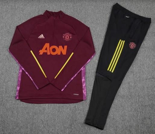 Дитячий костюм тренувальний Манчестер Юнайтед бордовий