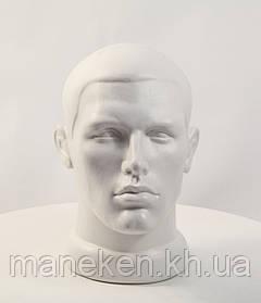 "Манекен-голова мужской TREMVERY ""ВГ"" белый (032) PN2"
