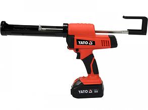 Аккумуляторный пистолет для клея и герметика Yato YT-82888