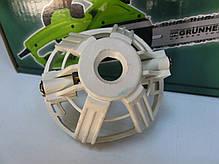 Задняя опора якоря цепной электропилы Grunhelm GES18-35B, фото 3