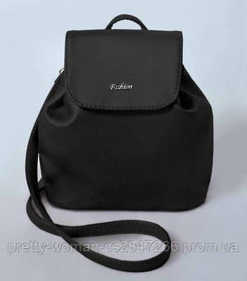 Жіночий чорний міні рюкзак код 9-52