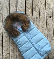 Конверт для новорожденного Дутик Snowman Blue