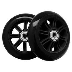 Колеса для трюкового самоката 100x24 мм SportVida PP ABEC 7 PU 85А SV-WO0013 черного цвета
