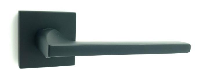 Ручка на квадратной розетке TRION ЦАМ MARS 49 Black