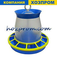 Бункерна годівниця для бройлерів Зміст качок Годівниця для курей Вакуумна поїлка для курей, фото 1
