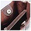 Женская черная сумка тиснение рептилия код 3-423 Уценка, фото 6