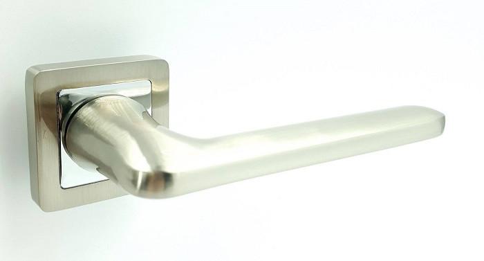 Ручка на квадратной розетке TRION ЦАМ STRONG 74 SN/CP